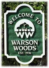 City of Warson Woods Entrance Sign